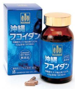 hỗ trợ điều trị ung thư okinawa fucoidan kanehide