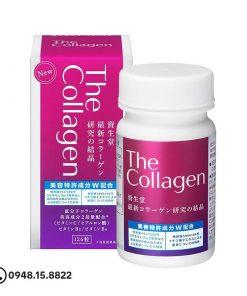 The Collagen Shiseido Nhật 126 viên trắng da, ngừa nám